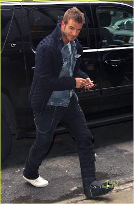 David Beckham Hot Photo