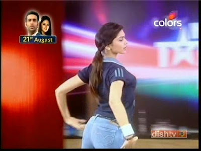 Deepika Padukone Tight Butt in Blue Jeans-Hot Caps