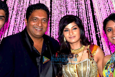 Prakash Raj-Pony Verma's Wedding Reception Pictures