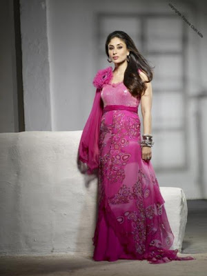 Kareena Kapoor Newly photoshoot for Firdous Cloth mills