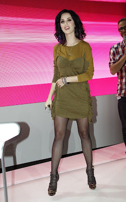 Katy Perry out promoting in Berlin
