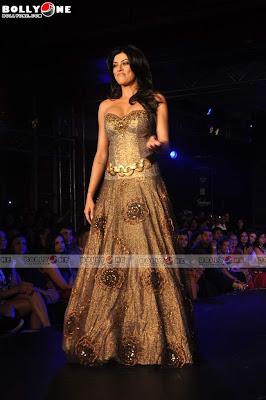 Sushmita sen visit at blenders pride fashion show