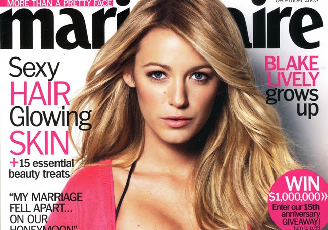 blake lively photoshoot. Blake Lively on the Cover of