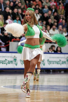 Hot Beautiful Cheerleaders wallpaper
