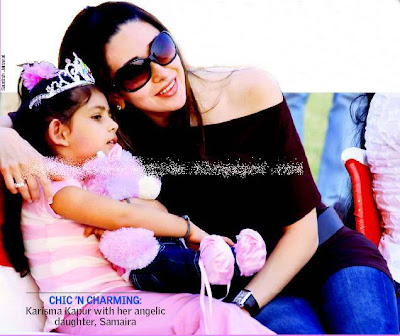 karishma and her daughter samaira wallpaper