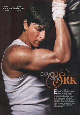 Shahrukh Khan Published on the Latest Edition of Cineblitz