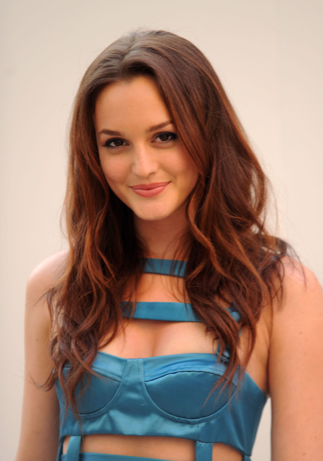 Leighton Meester's Hot and Cute Wallpaper