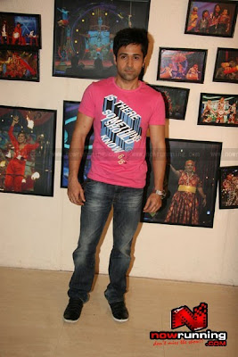 Emraan @ the sets of Entertainment Ke Liye Kuch Bhi karega