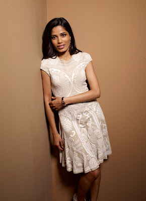 Freida Pinto amazing During Her Portrayal conference.