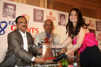 Kangana at Giants International Awards