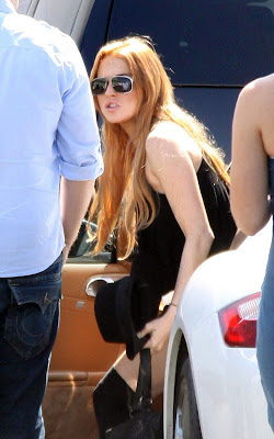 Lindsay Lohan,  American actress, pop singer and model