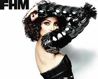 Lara Dutta FHM Magazine India October 2010