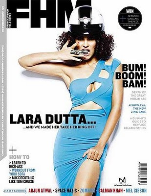 Lara Dutta FHM Magazine India October 2010