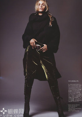 Valentina Zelyaeva, Russian model