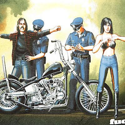 David Mann, biker world's artist