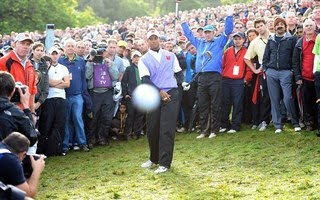 Cigar Guy Tiger Woods Photos