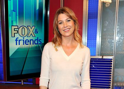 Ellen Pompeo And John Edwards FOX & Friends Pics