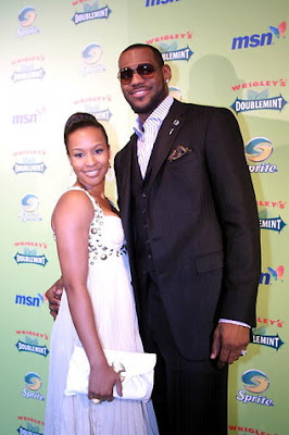 Savannah Brinson Lebron James Photos