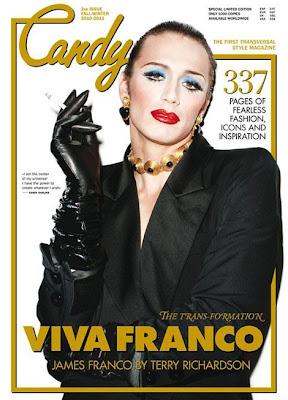 James Franco Candy Magazine Photos
