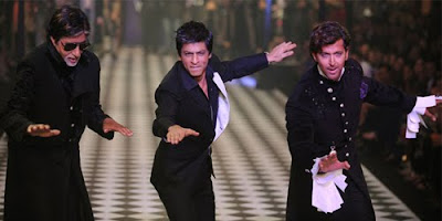 Big B, Hrithik, SRK walk the ramp