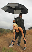 Karissa Shannon & Sam Jone Out For a Workout