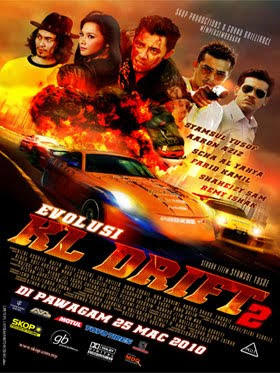 Poster Evolusi KL Drift 2