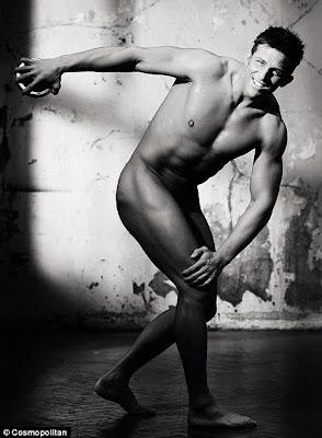 Alex Reid Stripped Naked