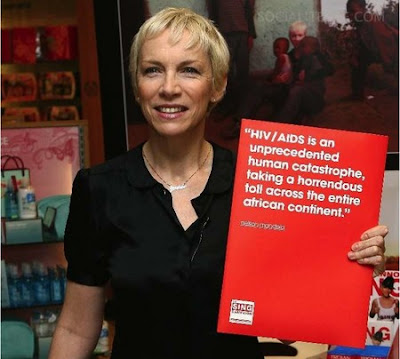 Annie Lennox HIV Awareness Campaign