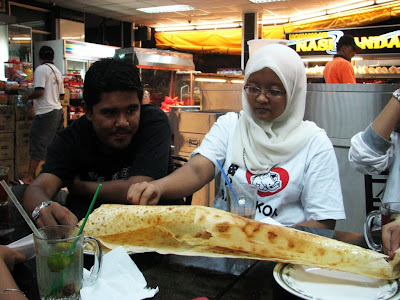 Roti Tisu or Tissue Bread