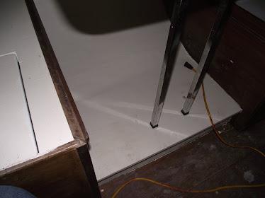 New dinette floor