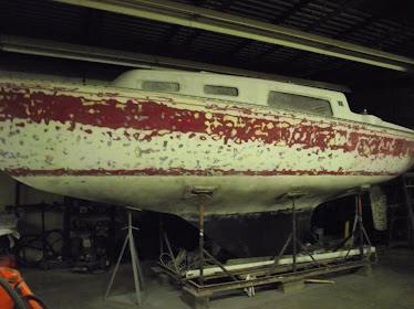 Finally ready for primer on the hull
