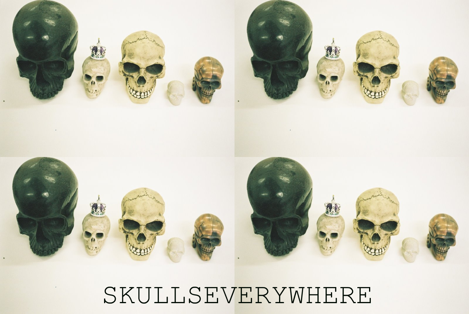 SKULLS EVERYWHERE