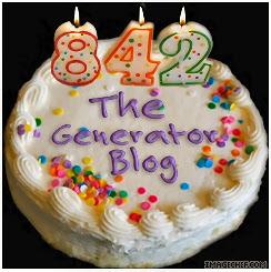 The Generator Blog: Birthday Cake Generator.