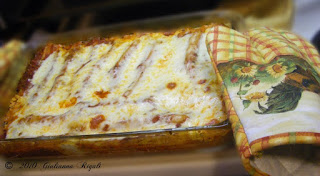 Photo of Sweet Basil & Cheese Manicotti in Pyrex Bakeware