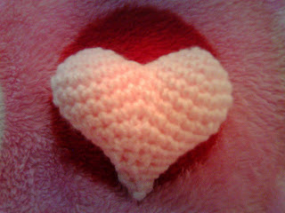 Simple and Cute Crochet Heart Pattern Free