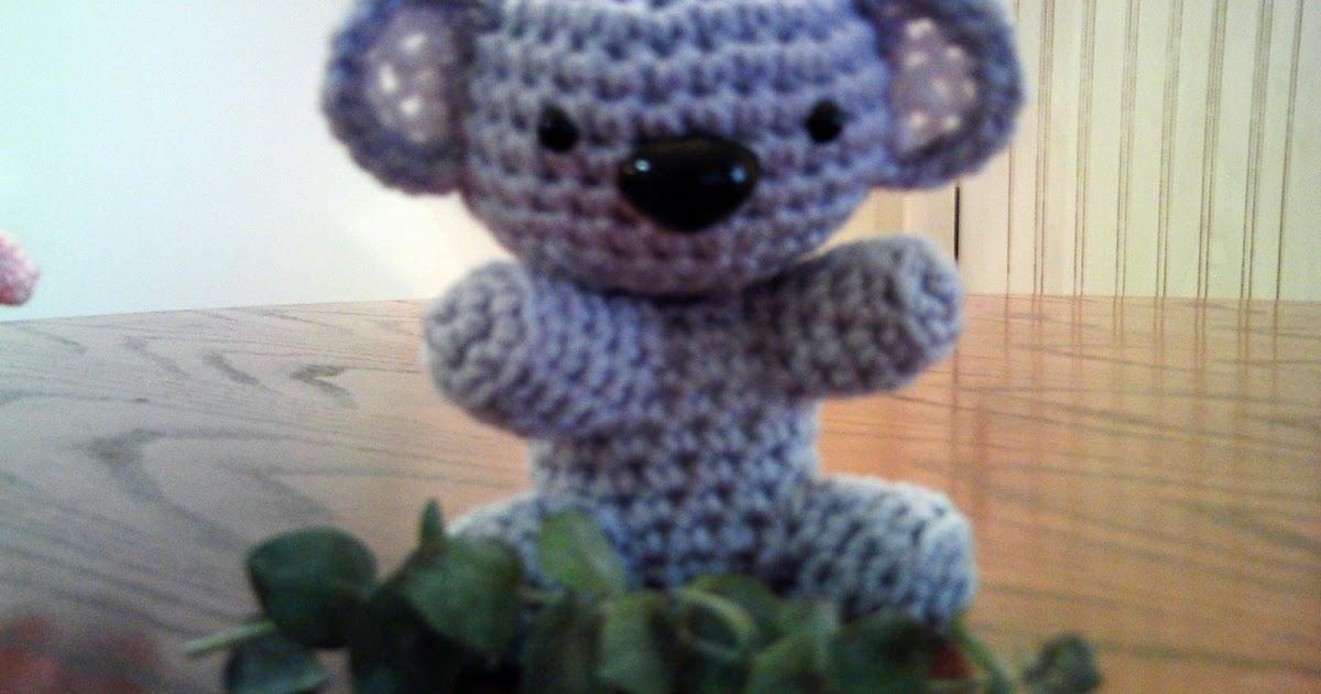 Koala Amigurumi Nose : Amigurumi Koala! Curly Girls Crochet Etc.