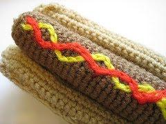 Amigurumi Hot Dog : Amigurumi Dogs to Crochet Curly Girls Crochet Etc.