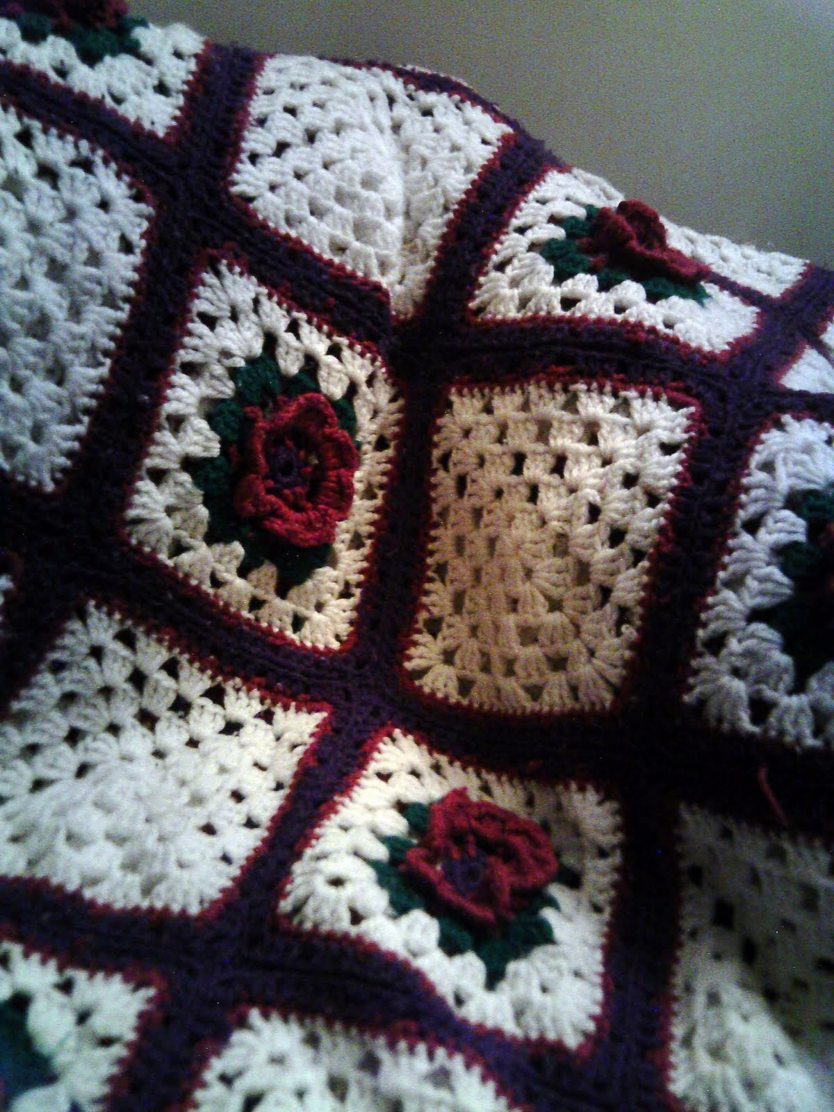 Crochet Patterns Squares : Crochet Afghan Squares - Free Crocheted Afghan Square Patterns