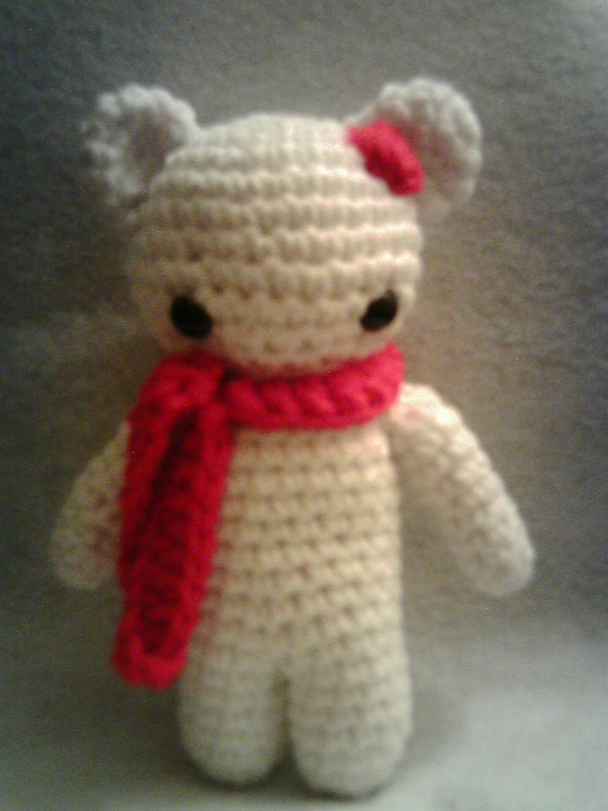 Amigurumi Christmas Bear Curly Girls Crochet Etc.