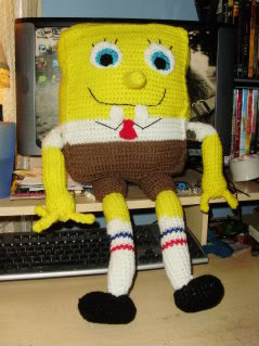 Kody May Knits: SpongeBob Squarepants Hat Pattern