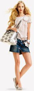 minifalda jeans