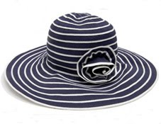 sombrero mujer Blanco