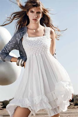 vestido blanco little white dress