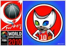 logo y mascota del mundial de baloncesto mundobasket turquía 2010