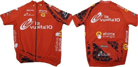 maillot líder de la general Vuelta ciclista a España