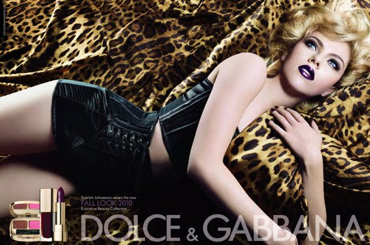 Dolce & Gabbana Evocative Beauty makeup collection fall Scarlett Johansson colección cosmeticos maquillaje