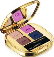 sombra de ojos cuatro Dolce & Gabbana Evocative Beauty fall smooth eyecolor quad