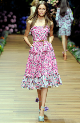 D&G Primavera-Verano vestidos