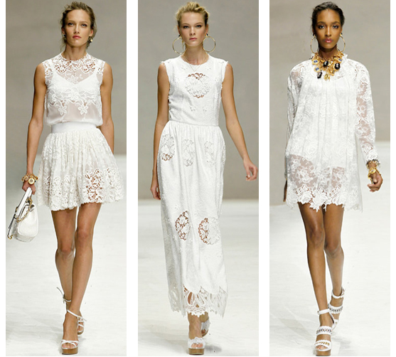 Dolce & Gabbana primavera verano 2011