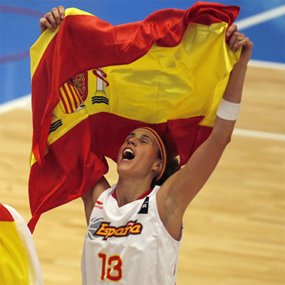 Amaya Valdemoro Mundial selección española baloncesto 2010 medalla bronce
